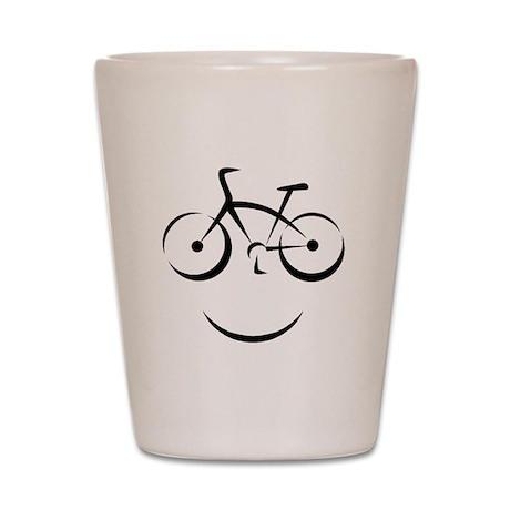Bike Smile Shot Glass