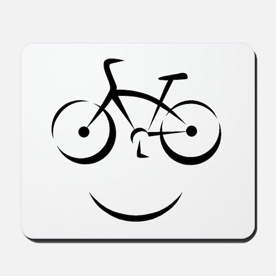Bike Smile Mousepad