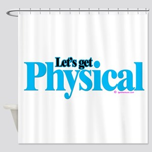 Physical Shower Curtain