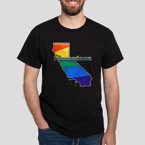 Pioneertown, California. Gay Pride Dark T-Shirt