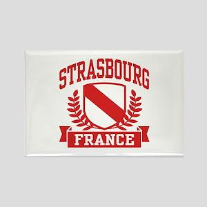 Strasbourg France Rectangle Magnet