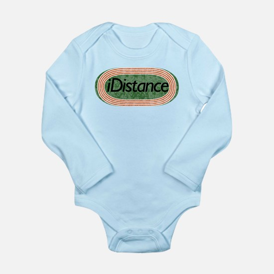 i distance track and field Long Sleeve Infant Body