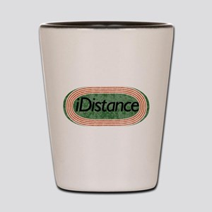 i distance track and field Shot Glass