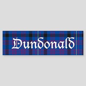 Tartan - Dundonald Sticker (Bumper)