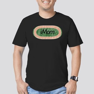 i mom track and field Men's Fitted T-Shirt (dark)