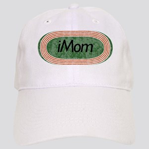 i mom track and field Cap
