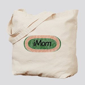 i mom track and field Tote Bag