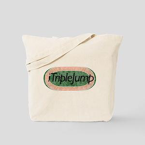 i Triple Jump Track and Field Tote Bag