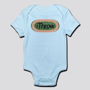i Throw Track and Field Infant Bodysuit