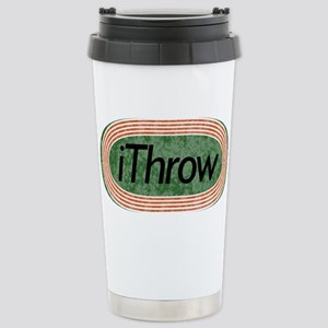 i Throw Track and Field Stainless Steel Travel Mug