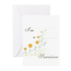 I'm a Survivor Greeting Cards (Pk of 10)