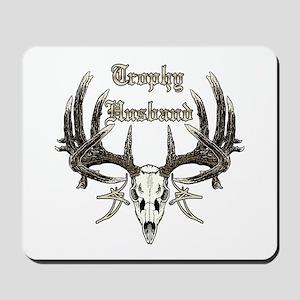 Trophy husband 1 Mousepad