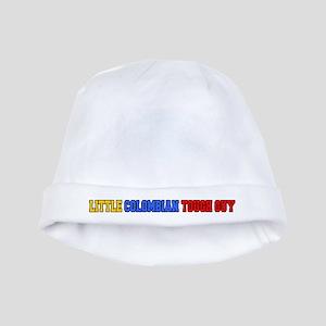 Little Colombian Tough Guy baby hat