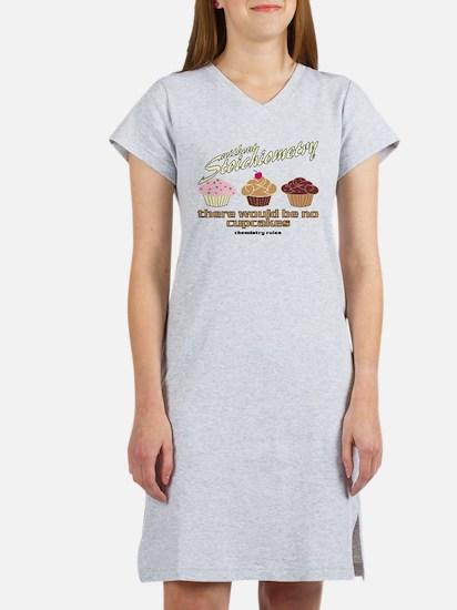 Chemistry Cupcakes Women's Nightshirt