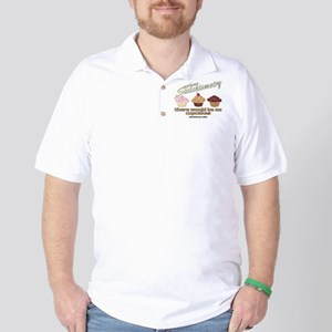Chemistry Cupcakes Golf Shirt