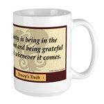 Traceys Truth Poster: Clarity Mugs