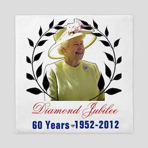 Queens Diamond Jubilee 60 Yea Queen Duvet
