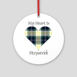 Heart - Fitzpatrick Ornament (Round)