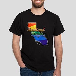 Rowland Heights, California. Gay Pride Dark T-Shir