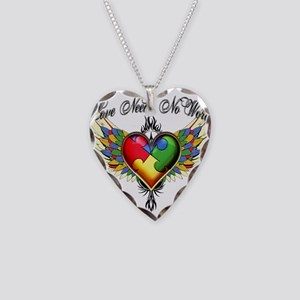 Autism Love Necklace Heart Charm