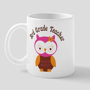 3rd Grade Teacher Gift Mug