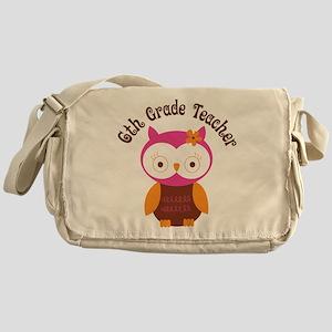 6th Grade Teacher Gift Messenger Bag