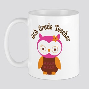 6th Grade Teacher Gift Mug