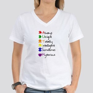 What Autism Means To Me Women's V-Neck T-Shirt