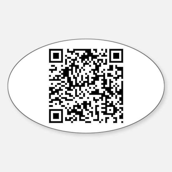 Rickroll QR Code Decal