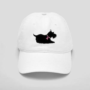 Schnauzer Silhouette Cap