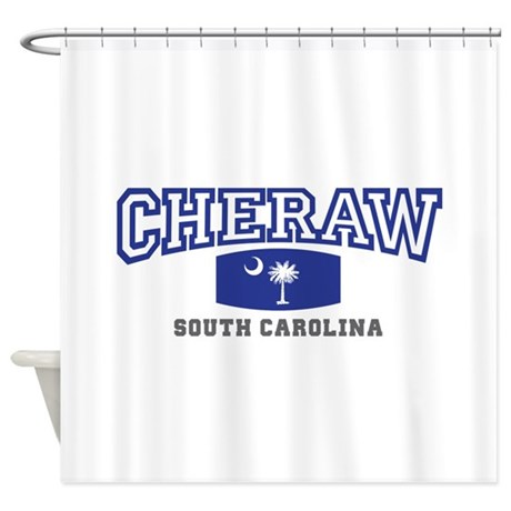 Cheraw South Carolina, SC, Palmetto State Flag Sho