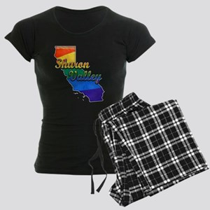 Sharon Valley, California. Gay Pride Women's Dark