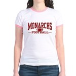 Monarchs Football Jr. Ringer T-Shirt