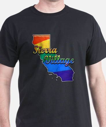 Sierra Village, California. Gay Pride T-Shirt