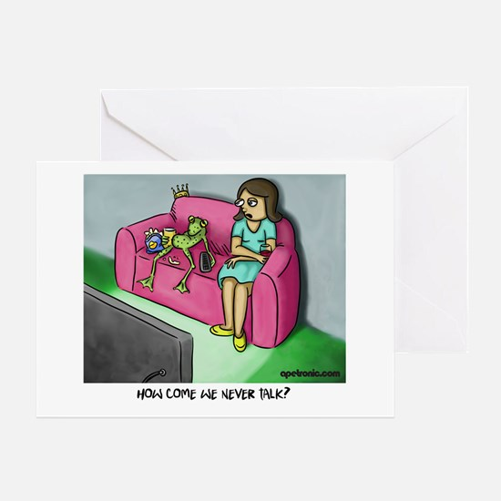 Cute Togetherness Greeting Card