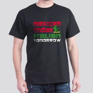 Mexican Italian Tomorrow Dark T-Shirt