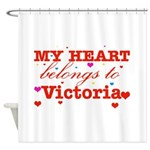 I love Victoria Shower Curtain