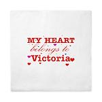 I love Victoria Queen Duvet