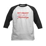 I love Victoria Kids Baseball Jersey
