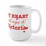 I love Victoria Large Mug