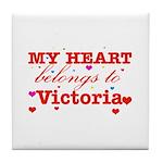 I love Victoria Tile Coaster