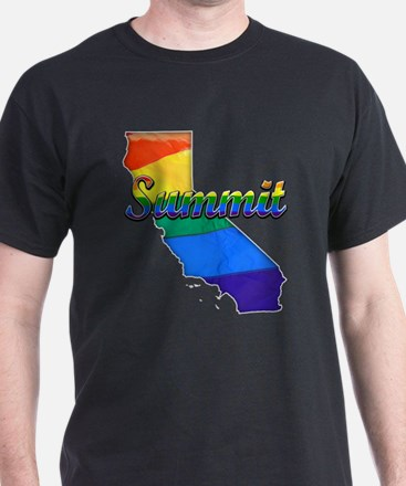 Summit, California. Gay Pride T-Shirt