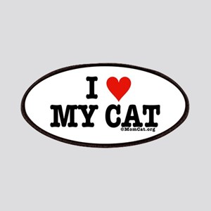 I Heart My Cat (White) Patches