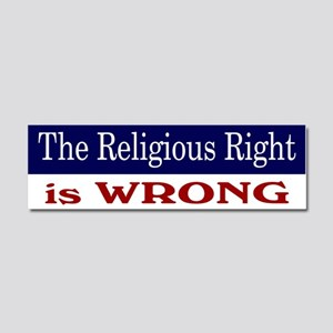 Right is Wrong Car Magnet 10 x 3