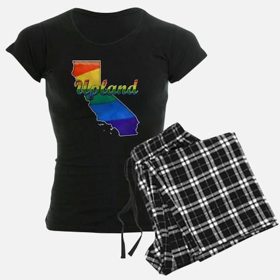 Upland, California. Gay Pride Pajamas