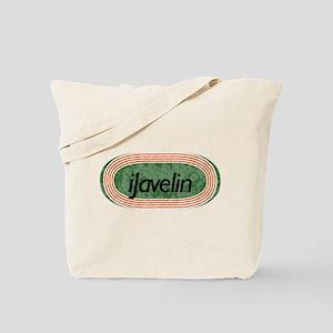 i Javelin Track and Field Tote Bag
