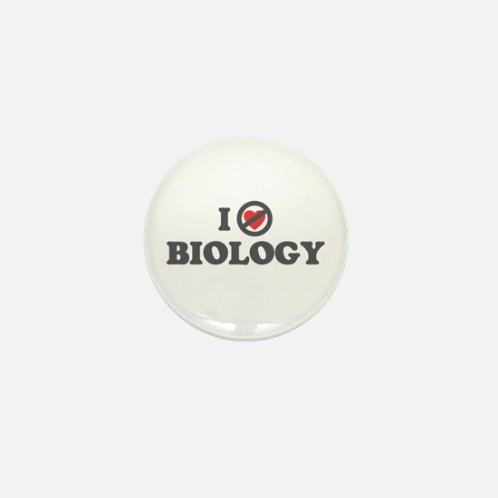Don't Heart Biology Mini Button