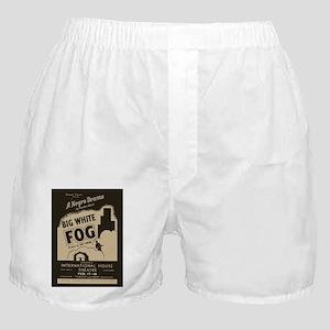 Big White Fog Boxer Shorts