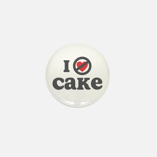 Don't Heart Cake Mini Button