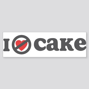 Don't Heart Cake Sticker (Bumper)